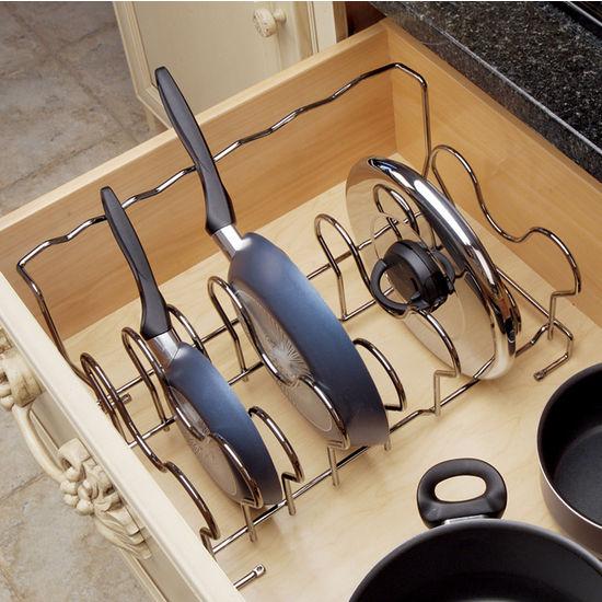 Cabinet Organizers - Kitchen Cabinet Organizers by Hafele, Rev-A-Shelf ...