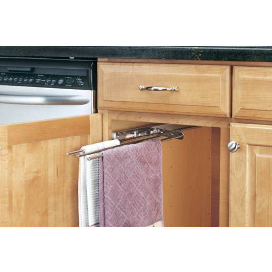 Cabinetstorage.com: Kitchen Cabinet 3 Prong Towel Bar By