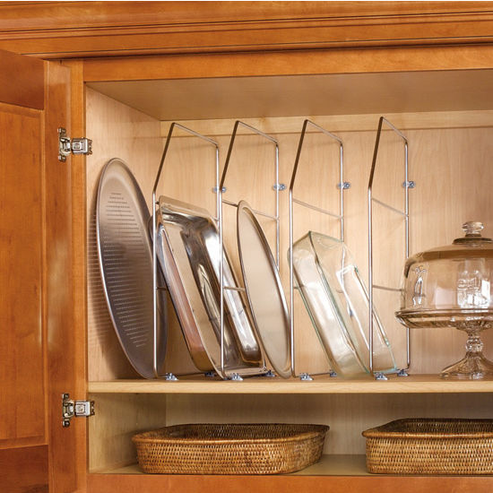Kitchen Cabinet Wood Tray Dividers