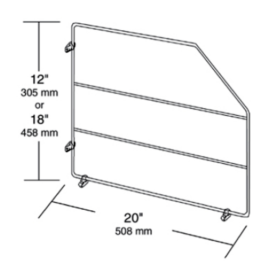 Cabinet Organizers - Kitchen Cabinet Wire Tray Dividers With Clips ...