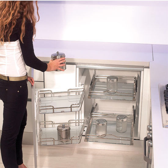 Rev A Shelf Premiere Quot Blind Corner Kitchen Cabinet