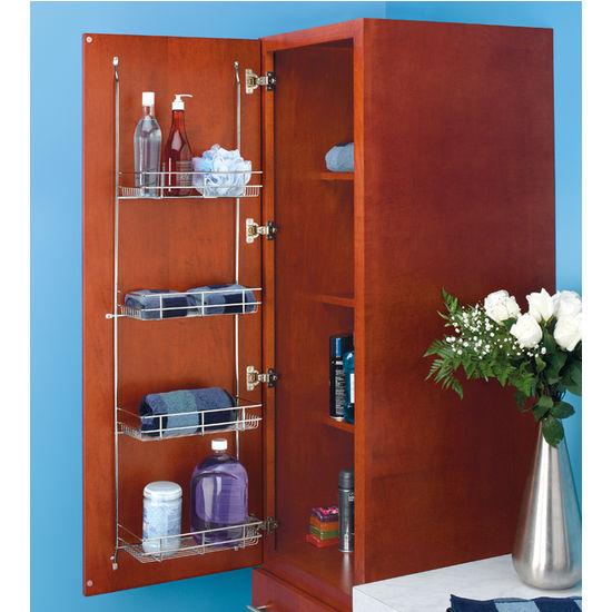 Rev A Shelf Linen Rack For Door Mounting In Bathroom Or