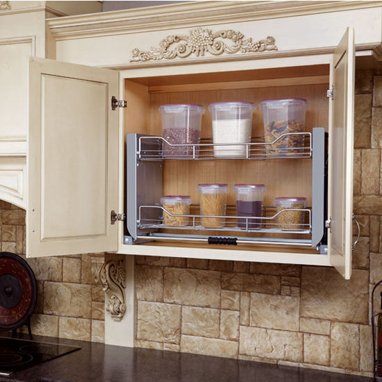 "Rev-A-Shelf ''Premiere"" Pull-Down Shelving System for ..."