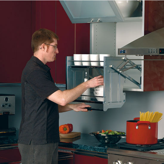 """Rev-A-Shelf ''Premiere"""" Pull-Down Shelving System for ..."""