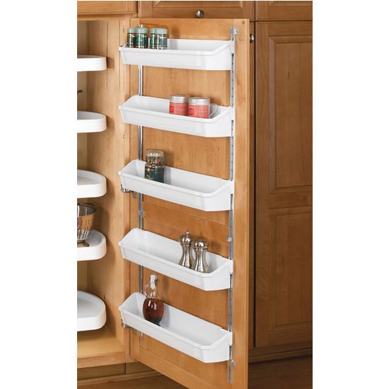 Rev-A-Shelf Five Shelf Kitchen Door Storage Sets | KitchenSource.com