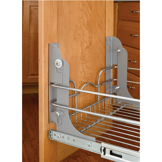 Full Extension Slides By Rev A Shelf Kitchen Accessories Unlimited