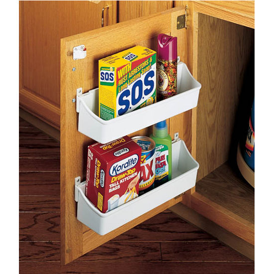 Rev A Shelf Kitchen Cabinet Door Mounting Storage Shelf