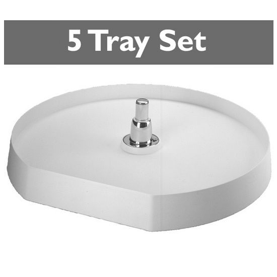 5 Tray D-Shape Pantry Sets for Kitchen Corner Pantry