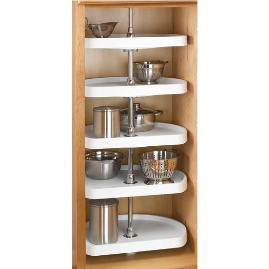 5 Shelf D-Shape Pantry Set