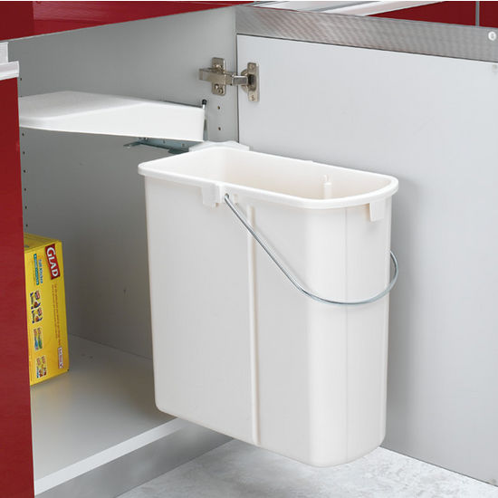 Rev A Shelf Pivot Out Rectangular Waste Bin 20 Liter