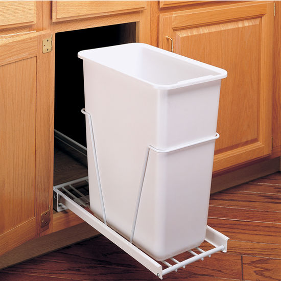 Single Pull-Out Waste Container