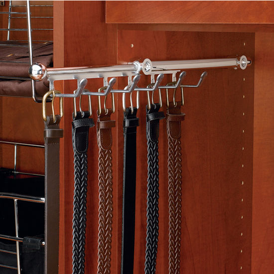Rev A Shelf Closet Belt Or Scarf Organizer Kitchensource Com