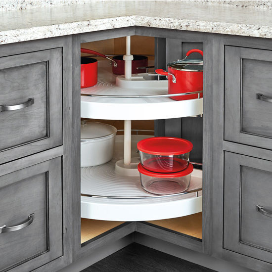 Kitchen Storage, Collapsible Corner Lazy Susan Hardware for Face ...