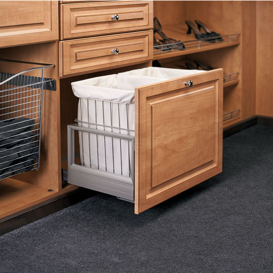 Rev A Shelf Double Wire Hamper With Rev A Motion