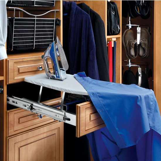 Closet Fold-Out Ironing Board