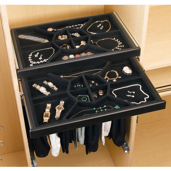 Jewelry Storage Jewelry Drawer W Full Extension Slides