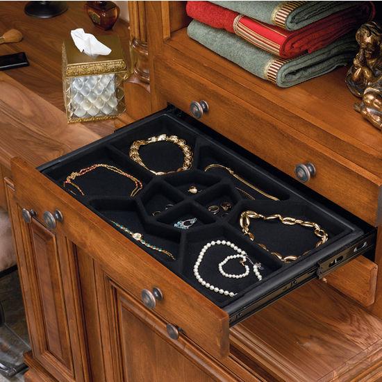 Jewelry Storage Jewelry Drawer W Full Extension Slides