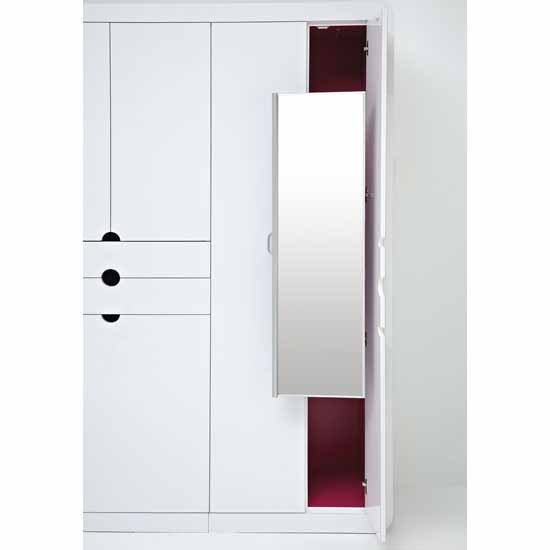 Rev-A-Shelf Pull-out Closet Mirror