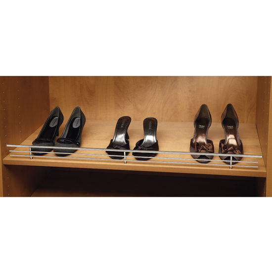 Shelf Rails Heavy Gauge Chrome Wire Shoe Rails By Rev A