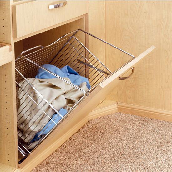 Rev A Shelf Tilt Out Wire Clothes Hamper For Laundry