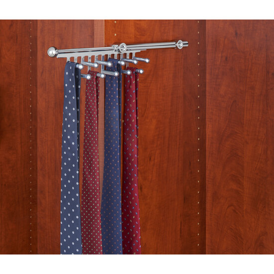 Rev a shelf closet tie or scarf organizer kitchensource com