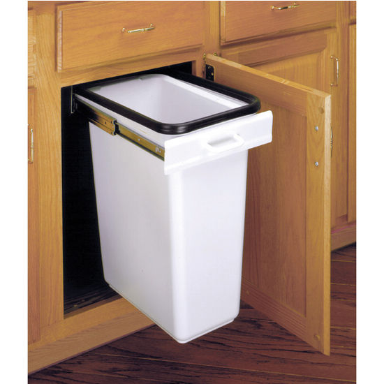 30 Quart E-Z Pull-Out Waste Container