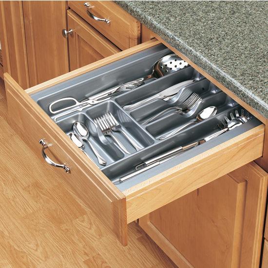 Drawer Organizers - Kitchen Drawer Polymer Cutlery Trays