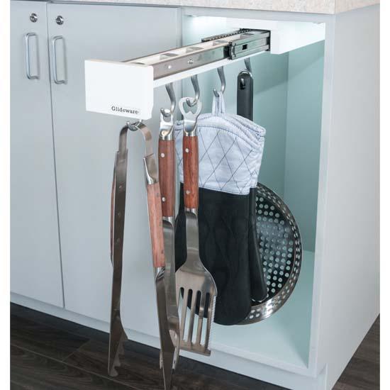 "Rev-A-Shelf ""Glideware"" Pull-Out Pan/Utility Organizer"