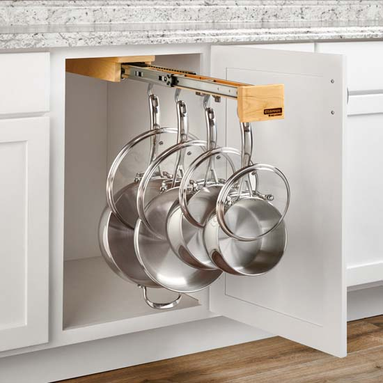 "Rev-A-Shelf ""Glideware"" Pull-Out Base Cabinet Organizer"
