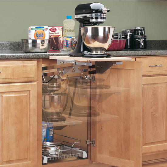 Rev A Shelf Ras Ml Hdcr Series Heavy Duty Chrome Kitchen