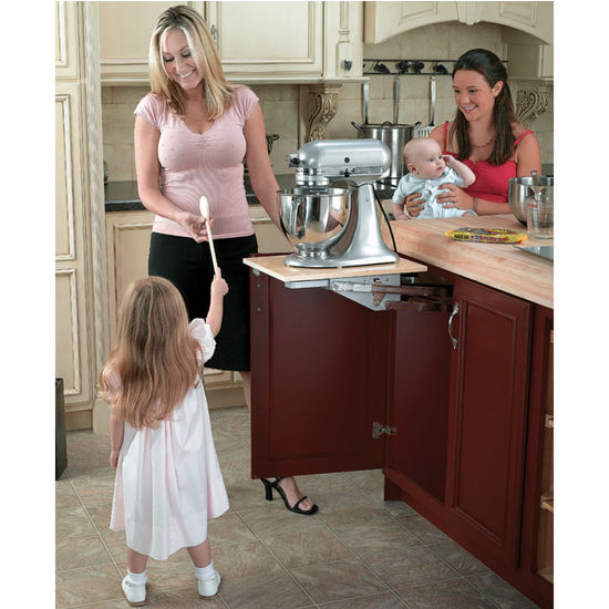 Mixer Lift Shelf Kitchen Cabinet