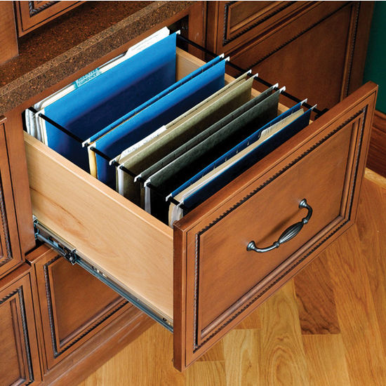 File Drawer Inserts: Holds Legal and Letter Sized File Folders ...