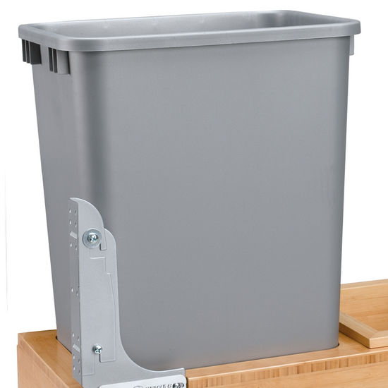 Black Kitchen Bin Sale: Rev-A-Shelf Replacement Waste Bins