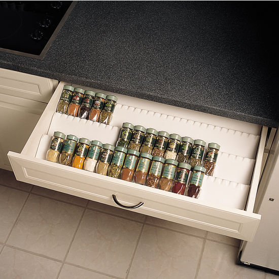 Drawer Organizers Trimmable Drawer Spice Tray by RevAShelf