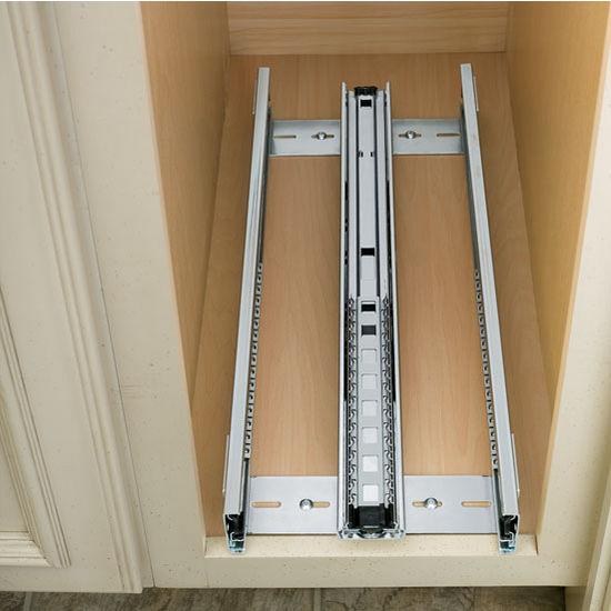 Rev a shelf kitchen desk or vanity base cabinet pullout organizer w