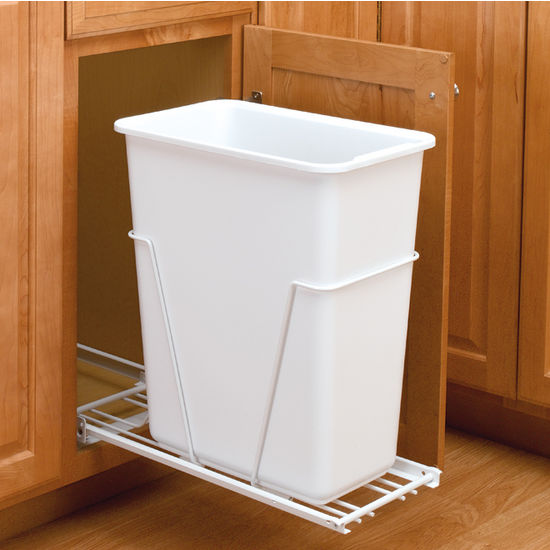 Economy Single Pull-Out Waste Container