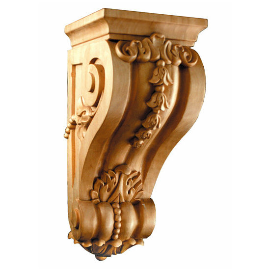 Decorative hardware bellflower corbels by white river for Large exterior corbels
