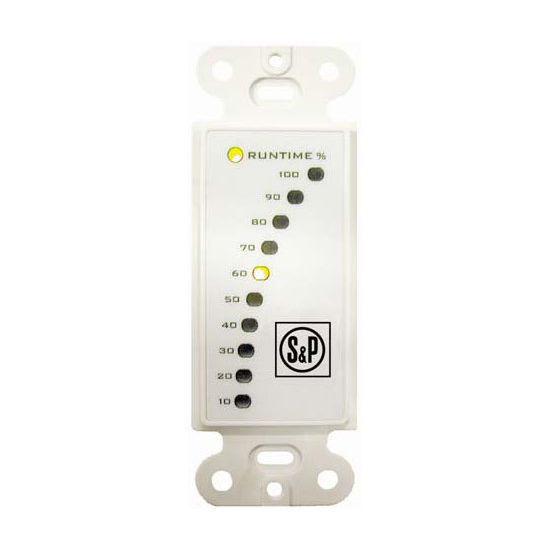 S&P Percentage Timer Control with Furnace Interlock, For use with TR70/TR130/TR200/TR300 Ventilators