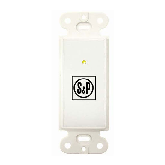 S&P Push Button Point-of-Use Control, For use with TR70/TR130/TR200/TR300 Ventilators