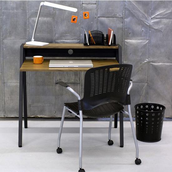 Safco Writing Desk, Black