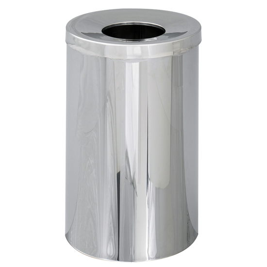 Safco�  Reflections 35-Gallon Open Top Trash Can