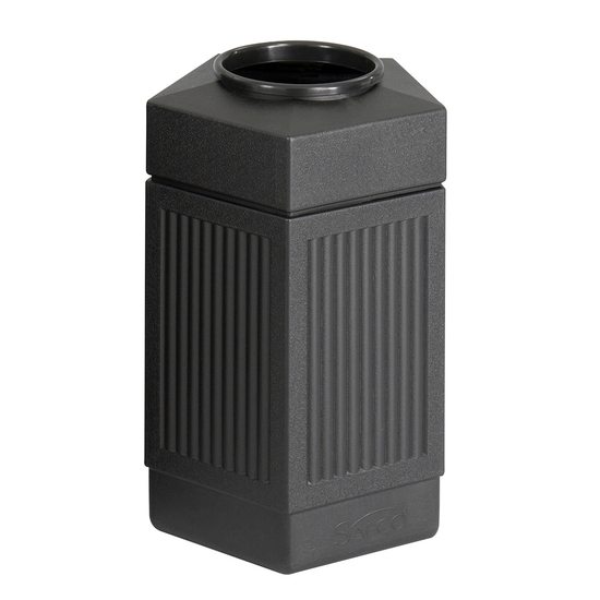 30-Gallon Indoor/Outdoor Pentagon Trash Can