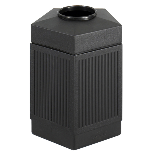 Safco® CanMeleon™ 45-Gallon Indoor/Outdoor Pentagon Trash Can