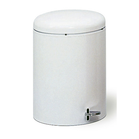 4-Gallon Round Step On Trash Can