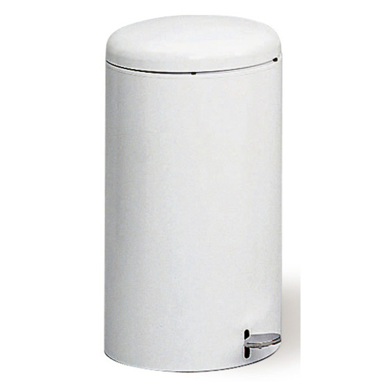 7-Gallon Round Step On Trash Can
