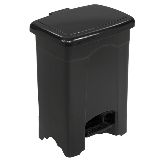 Safco� 4-Gallon Plastic Step On Trash Can
