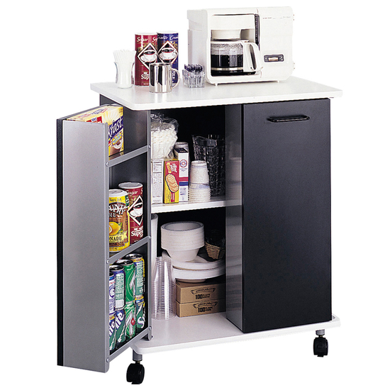 Safco Steel Refreshment Kitchen Cart