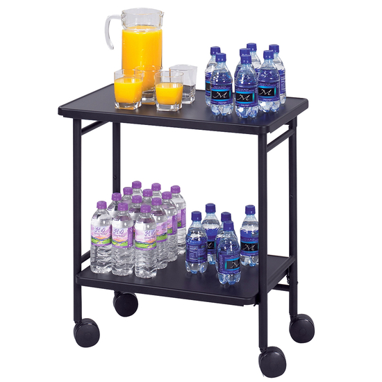 Safco Steel Folding Office/Beverage Kitchen Cart