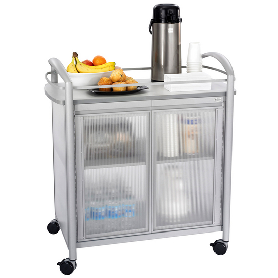 Safco Impromptu Mobile Refreshment Cart