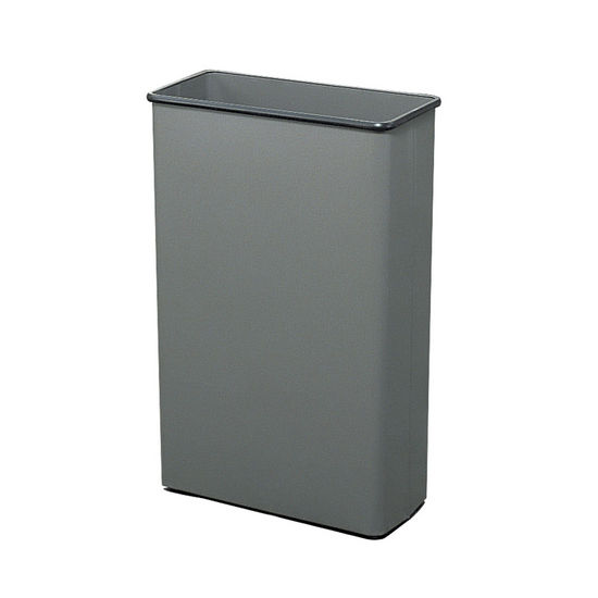 Safco Tall Rectangular Wastebasket At